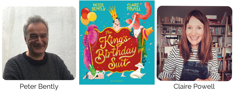 The King's Birthday Suit by Peter Bently and Claire Powell - author and illustrator interview