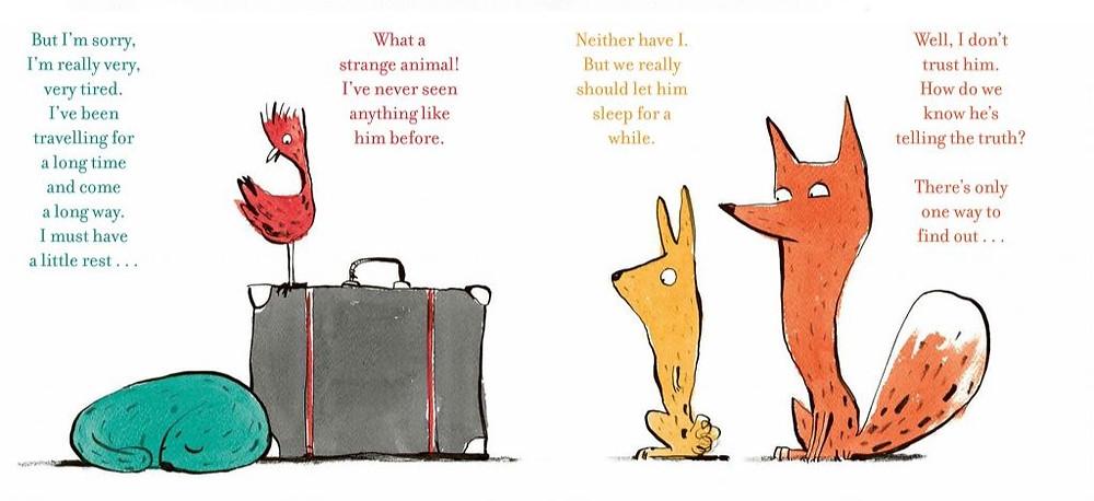 The Suitcase by Chris Naylor-Ballesteros, Nosy Crow