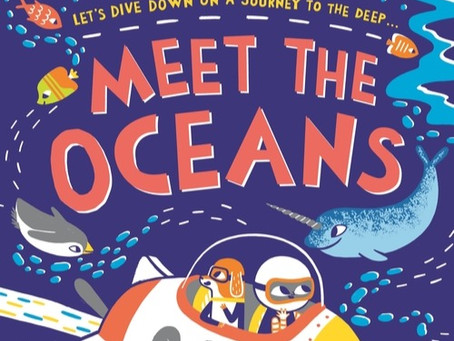 BLOG TOUR: Meet the Oceans by Caryl Hart and Bethan Woollvin, Bloomsbury