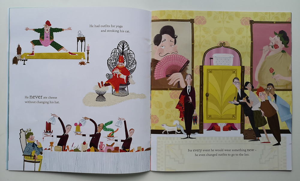 The King's Birthday Suit by Peter Bently and Claire Powell, Bloomsbury
