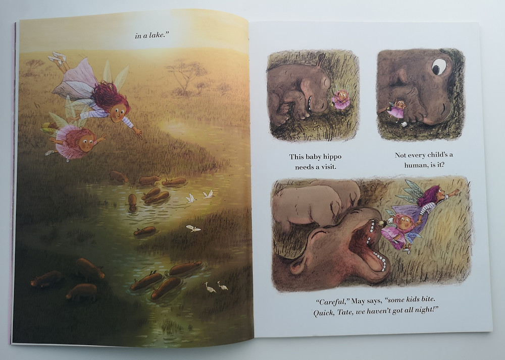 Tooth Fairy in Training by Michelle Robinson and Briony May Smith, Walker Books