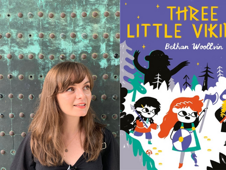 Bethan Woollvin chats to us about her new book and her subervise fairy tales
