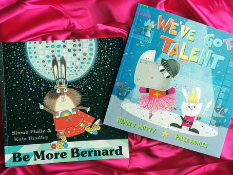 Book Match Monday: Be More Bernard and We've Got Talent
