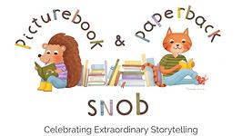 new picture book snob logo with tagline