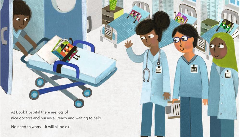Book Hospital by Leigh Hodgkinson, Simon and Schuster
