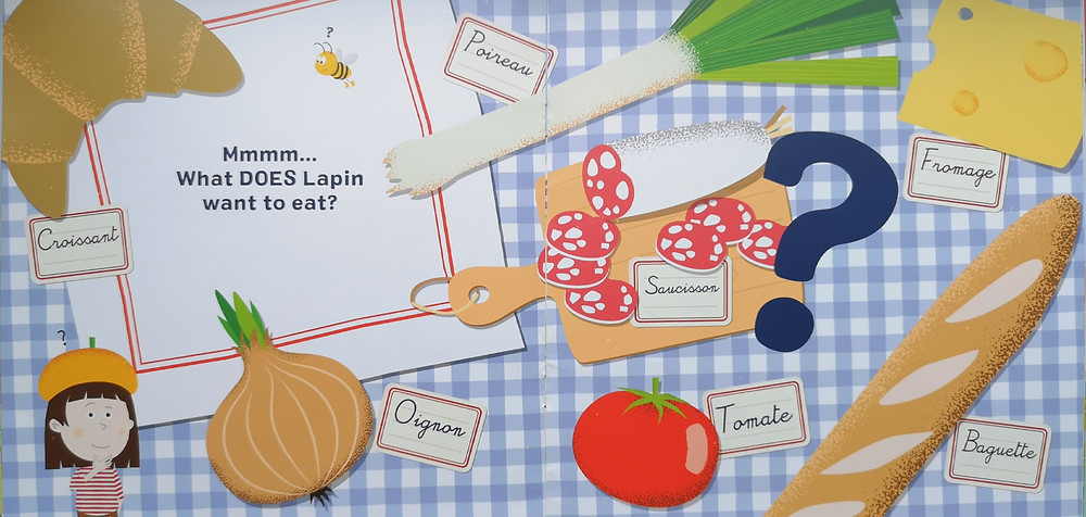 rabbit bunny le petit monde puppet theatre Lapin Is Hungry by Tania & Olivier Czajka
