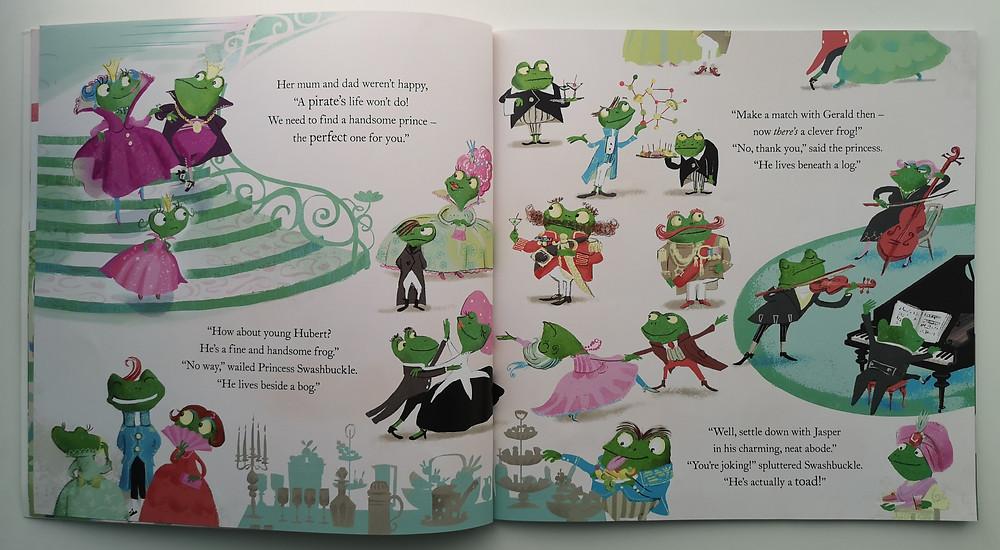 Princess Swashbuckle by Hollie Hughes and Deborah Allwright, Bloomsbury