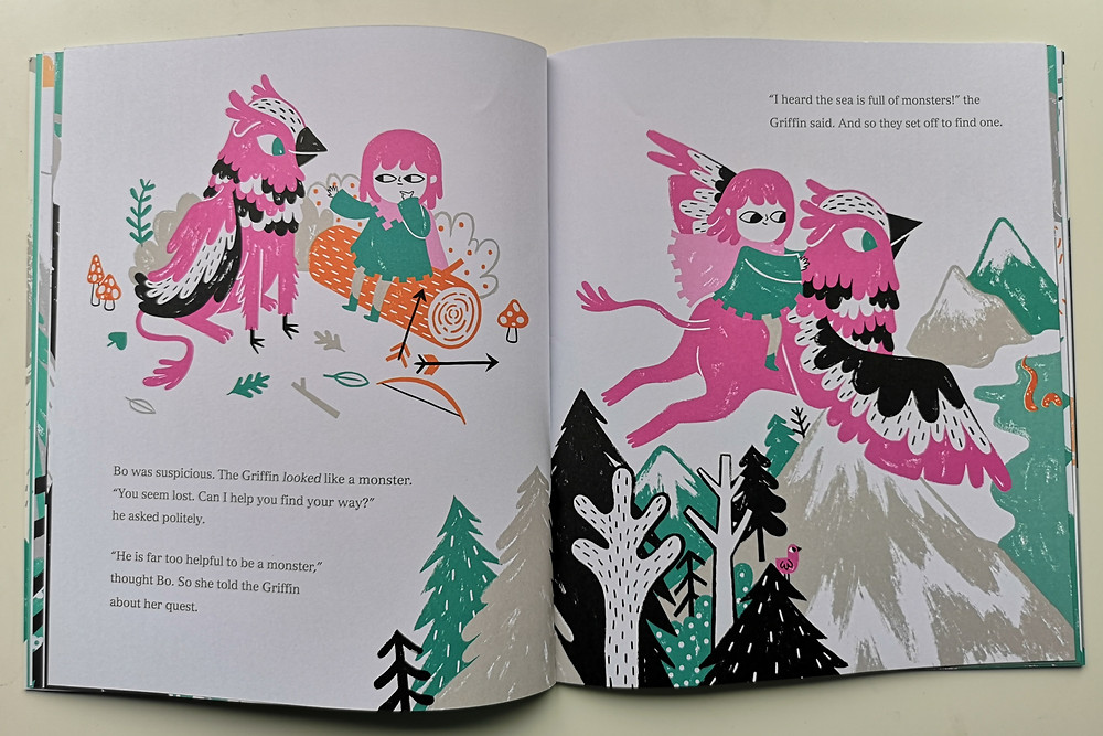 I Can Catch a Monster by Bethan Woollvin, Two Hoots