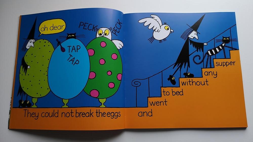 Meg's Eggs by Helen Nicoll and Jan Pienkowski puffin books