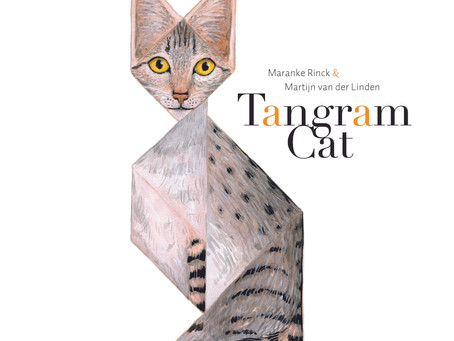 Meet the Charming and Playful Tangram Cat