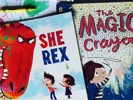 Book Match Monday: She Rex and The Magic Crayon