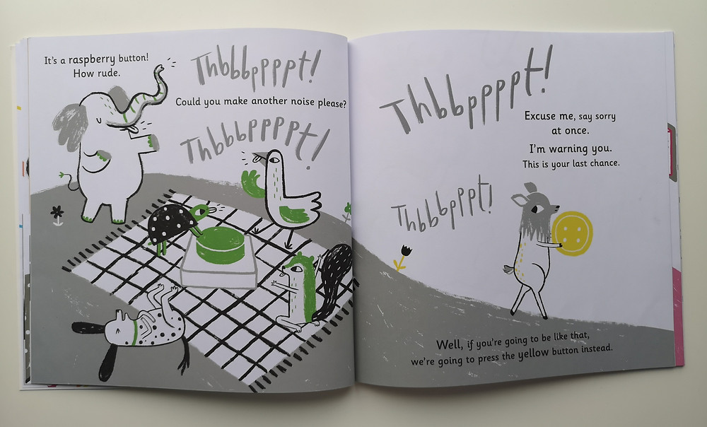 The Button Book Andersen Press Sally Nicholls Bethan Woollvin