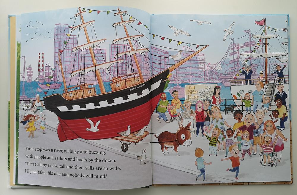 Wee Donkey's Treasure Hunt by Erika Mc Gann and Gerry Daly, O'Brien Press