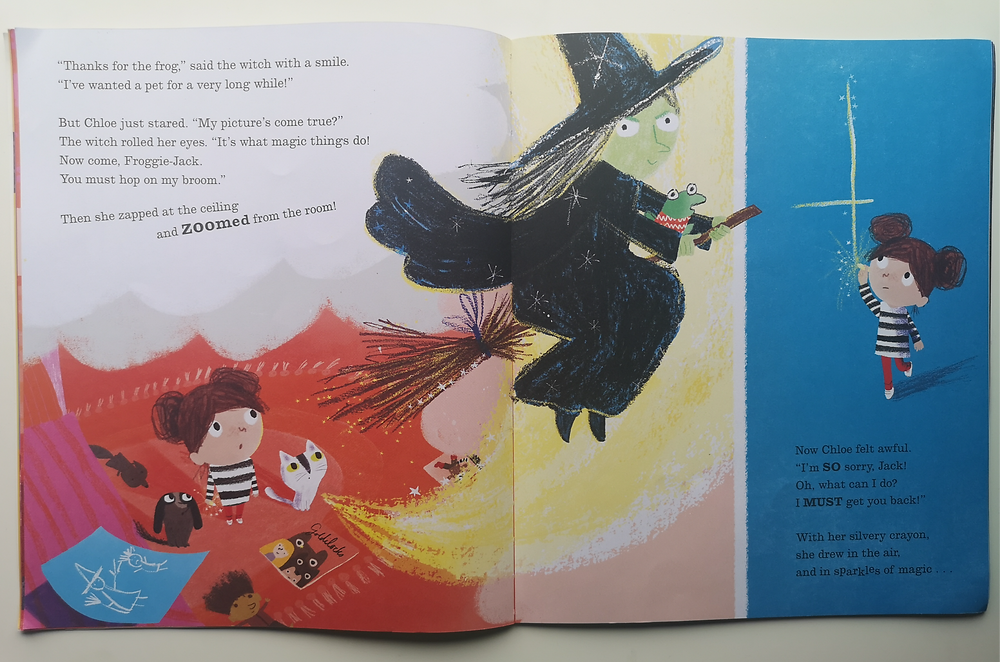The Magic Crayon by Amy Sparkes and Ali Pye, Puffin Books