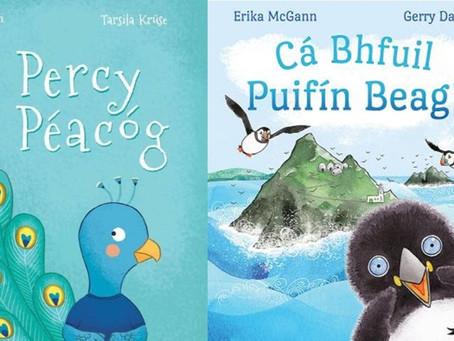 Cúpla gorgeous books as Gaeilge