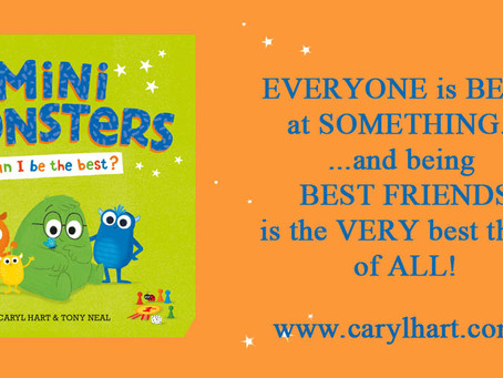 BLOG TOUR! Mini Monsters: Can I Be the Best?