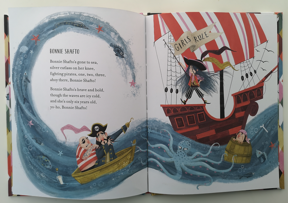 What are little girls made of? by Jeanne Willis and Isabelle Follath, Nosy Crow
