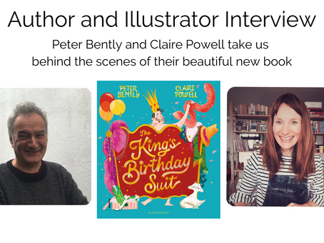BLOG TOUR: We chat to Peter Bently and Claire Powell about The King's Birthday Suit