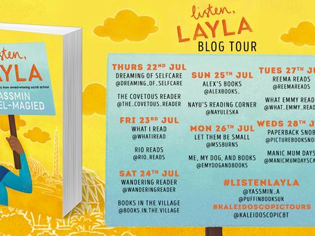BLOG TOUR: Listen, Layla by Yassmin Abdel-Magied, Puffin Books