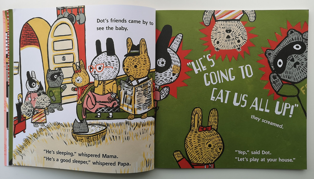 Wolfie the Bunny by Ame Dyckman and Zachariah Ohora