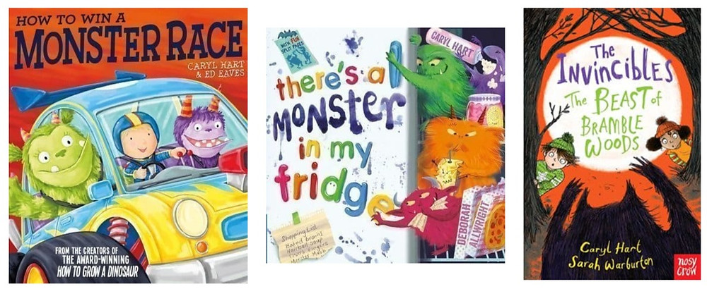 More monster books by Caryl Hart