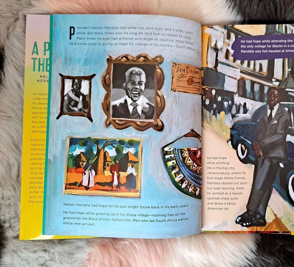 Nelson Mandela's Hope for His Nation by Lindsey McDivitt and Charly Palmer