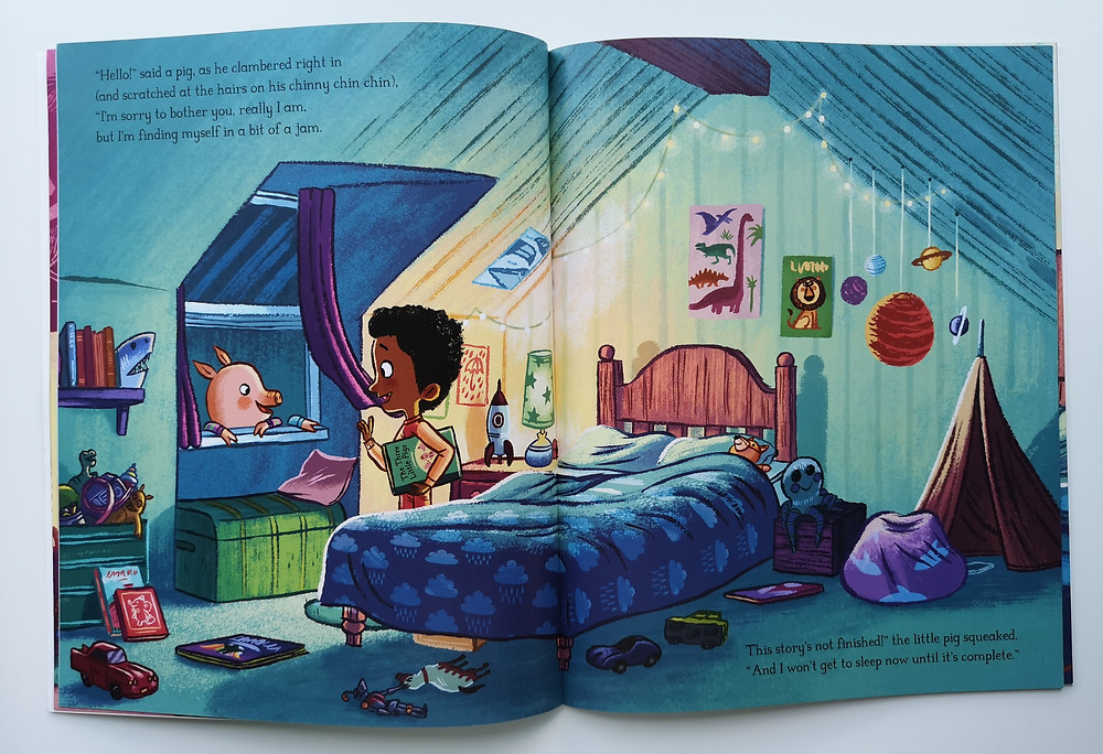 The Three Little Pigs and the Big Bad Wolf by Lucy Rowland and Ben Mantle