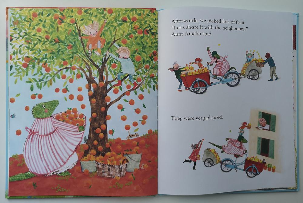 Aunt Amelia by Rebecca Cobb, Macmillian