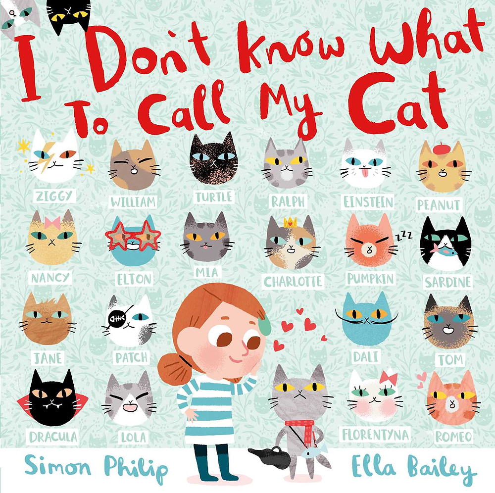 I Don't Know What to Call My Cat by Simon Philip and Ella Bailey