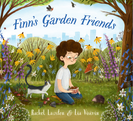 Finn's Garden Friends by Rachel Lawston and Lia Visirin, Pikku Publishing