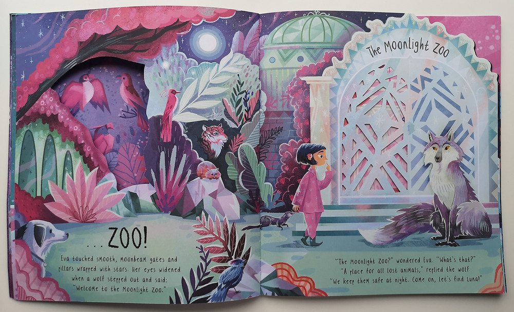 The Moonlight Zoo by Maudie Powell-Tuck & Karl James Mountford, Little Tiger