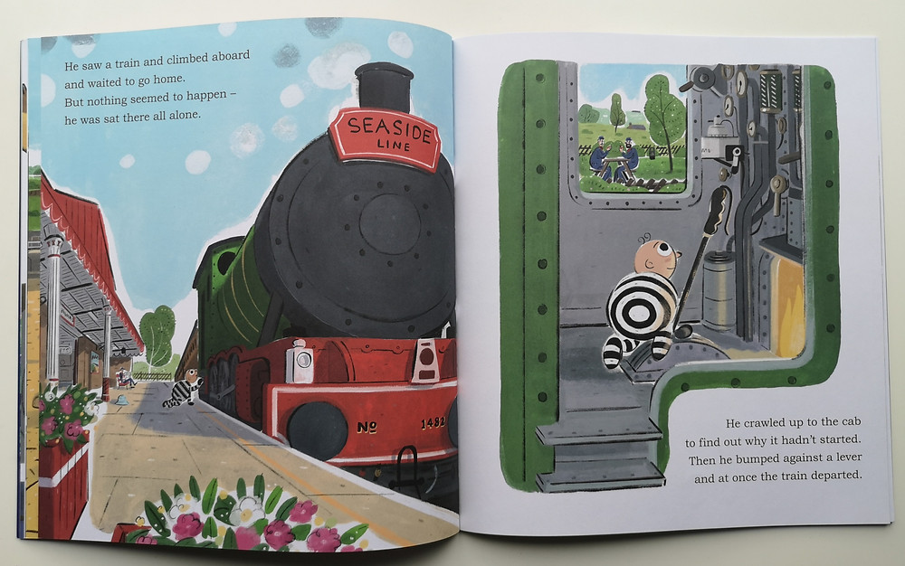 Baby's First Train Robbery by Jim Whalley and Stephen Collins