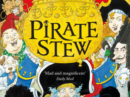 Avast ye landlubbers! Here be Neil Gaiman reading Pirate Stew for Talk Like a Pirate Day...