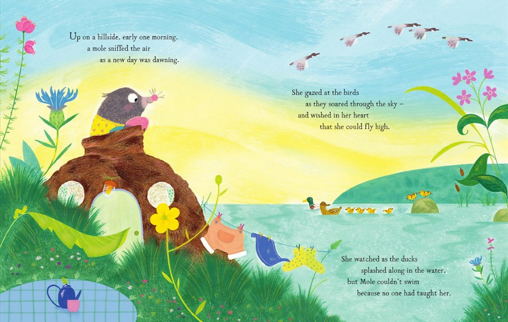 Dream Big, Little Mole by Tom Percival and Christine Pym, Bloomsbury
