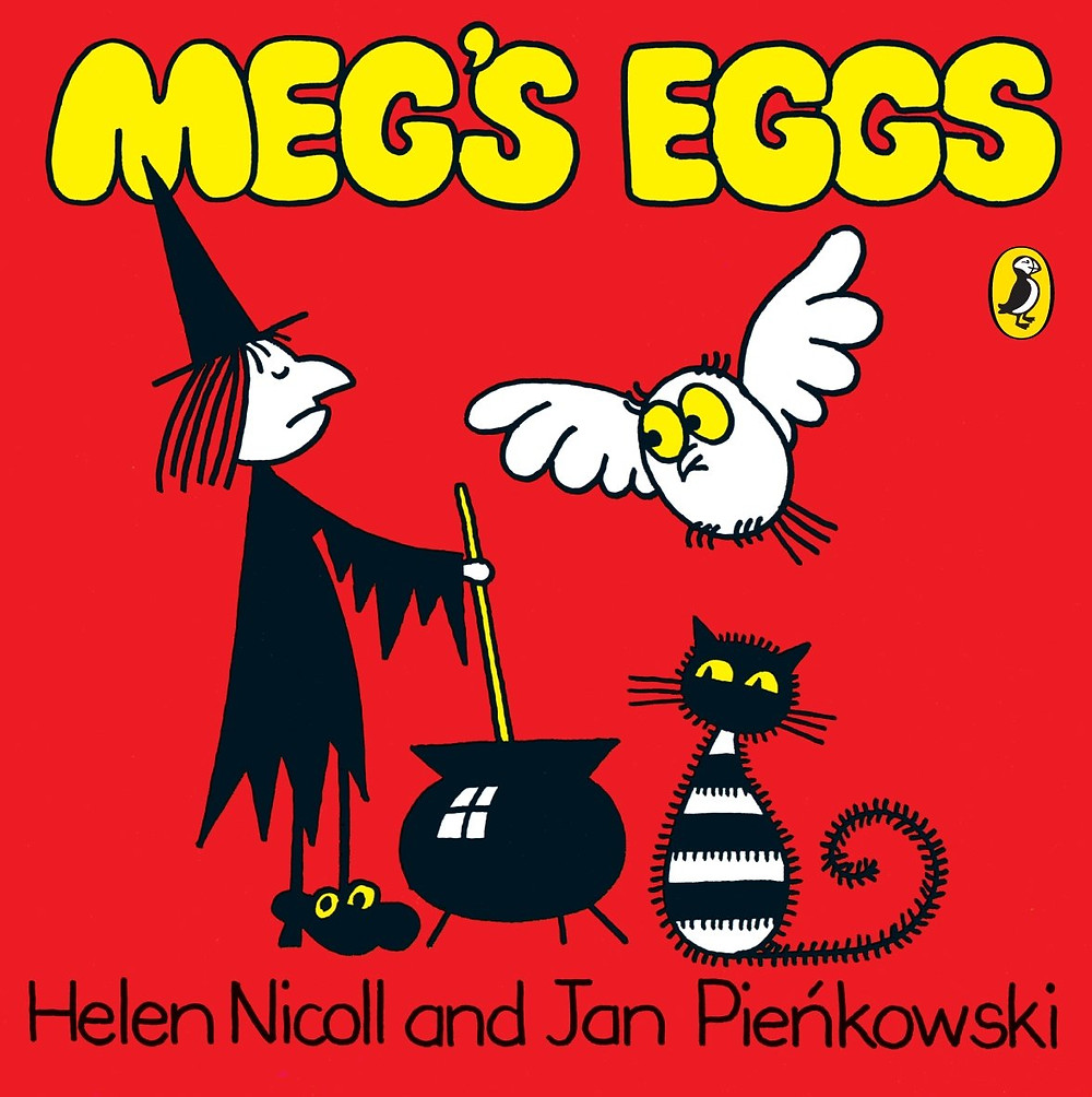 Meg's Eggs by Helen Nicoll and Jan Pienkowski cover puffin books