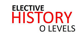 O Level History Elective Tuition