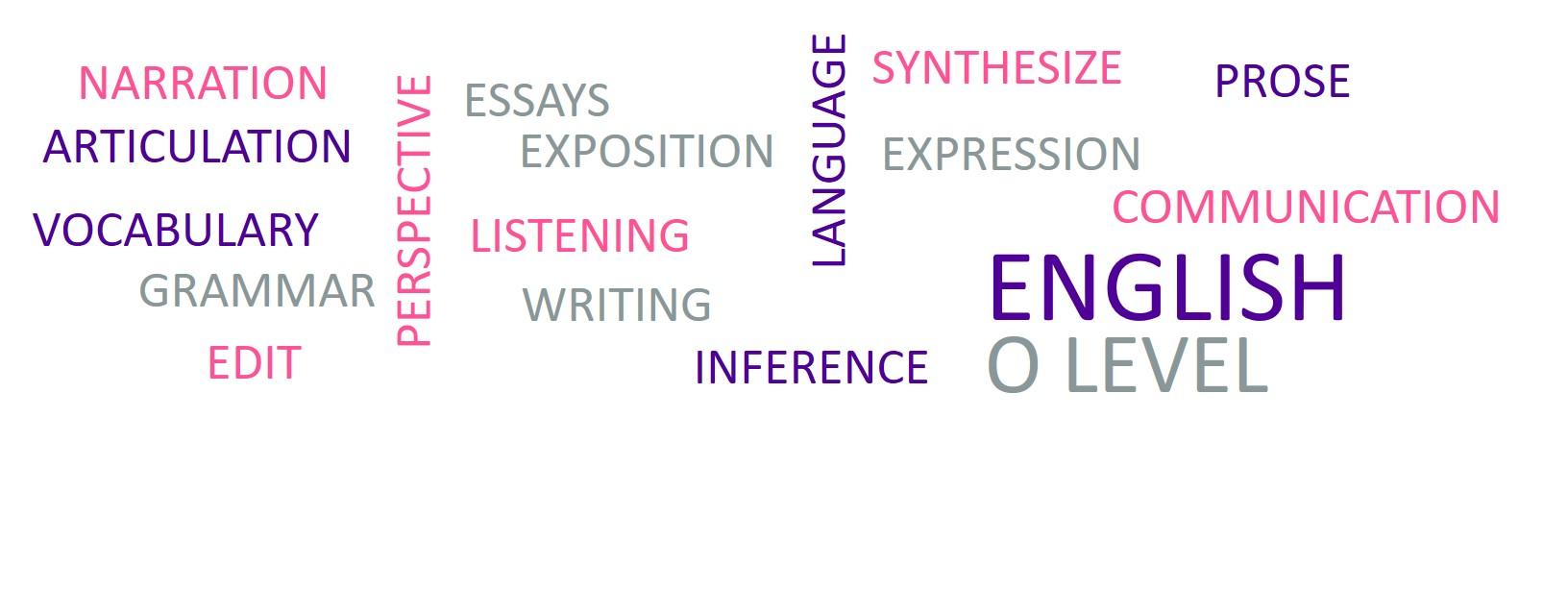 model essays for o levels english