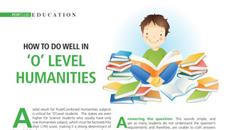How To Do Well in O-Level Humanities