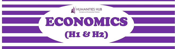A Level / JC H1 H2 Economics Tuition