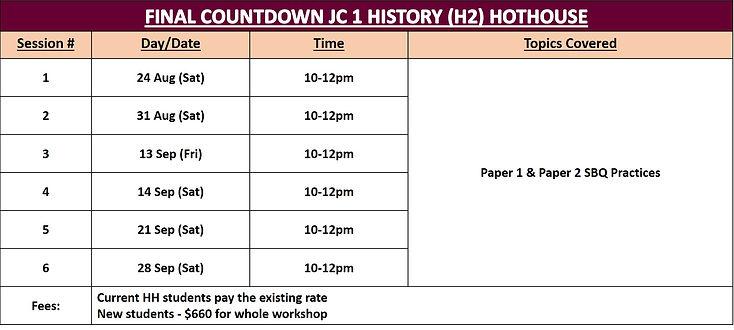 Final Countdown JC1 Hist Hothouse.jpg