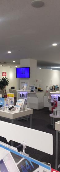 ドコモショップアクロスプラザ与次郎店店内3