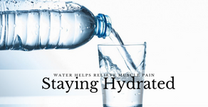 Water Helps Relieve Muscle Pain