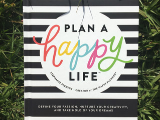 Blog Article:  Book Review:  Plan A Happy Life by Stephanie Fleming