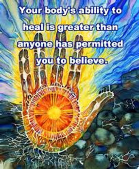your body's ability to heal quote