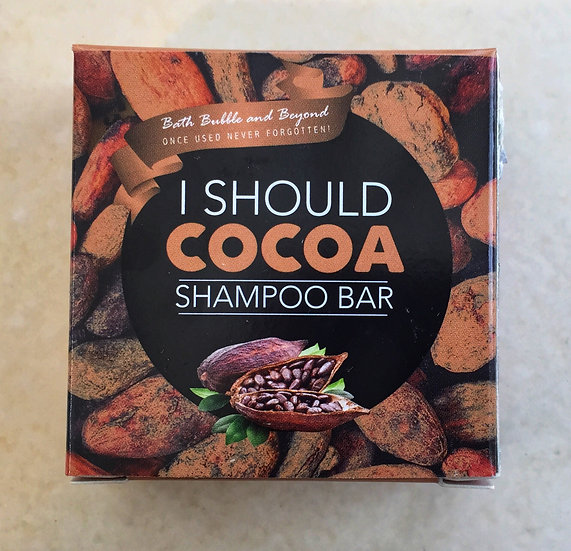 I Should Cocoa Shampoo Bar
