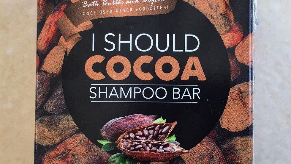 I Should Cocoa Shampoo Bar
