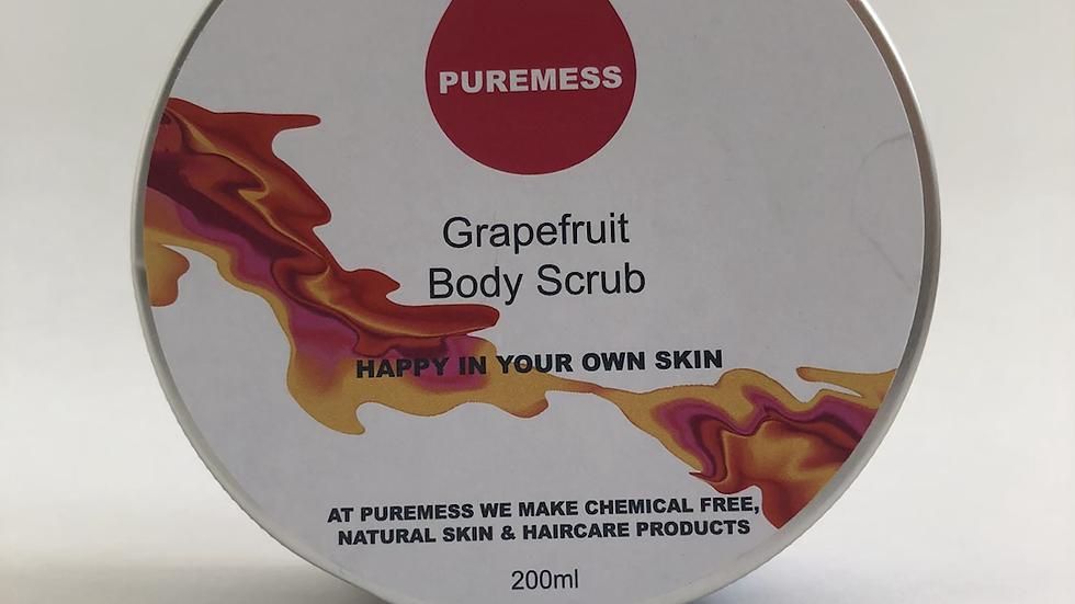 Grapefruit Body Scrub