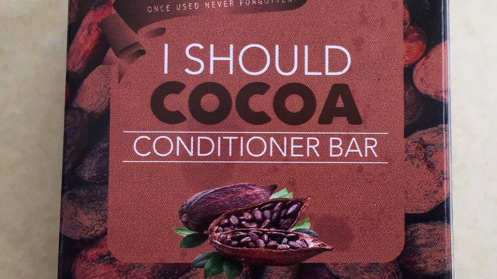 I Should Cocoa Conditioner Bar
