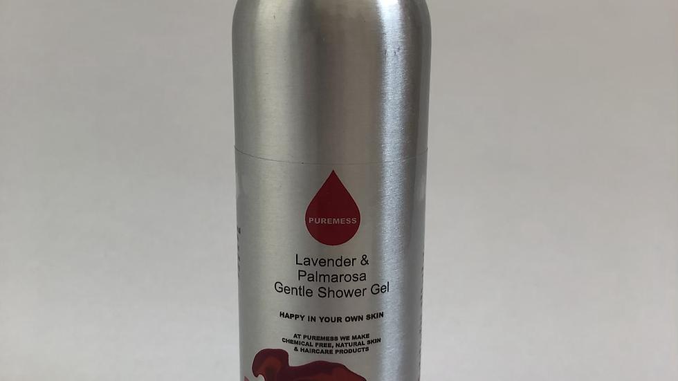 Lavender and Palmarosa Shower Gel