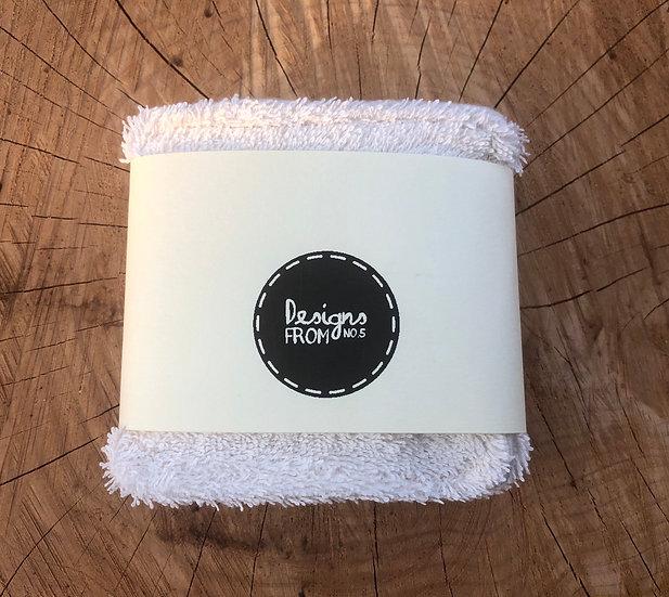 100% Organic Reusable Face Wipes